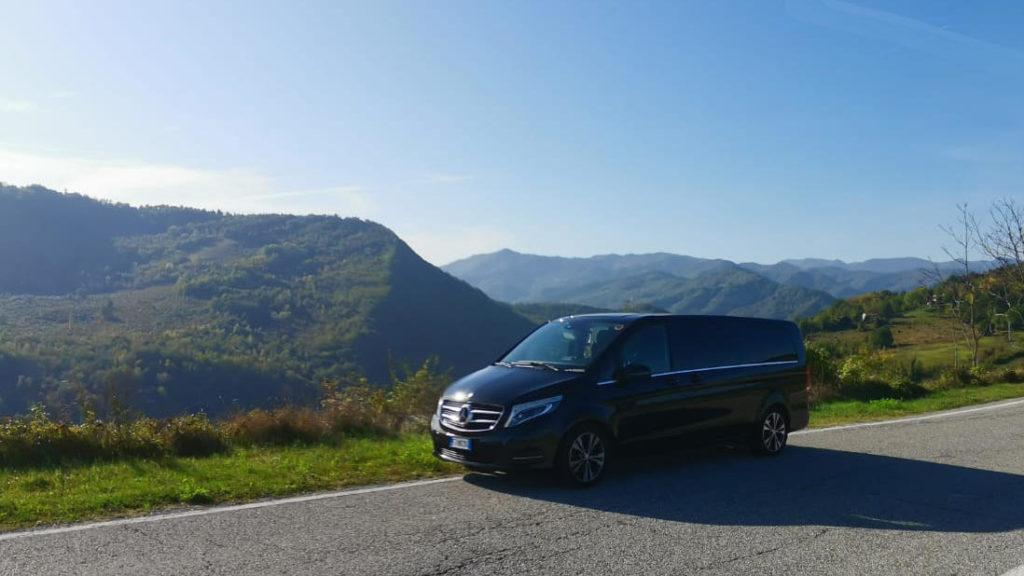 Tuscany taxi service